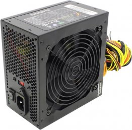 Блок питания Gigabyte ATX 500W GZ-EBS50N-C3 (24+4+4pin) 120mm fan 3xSATA