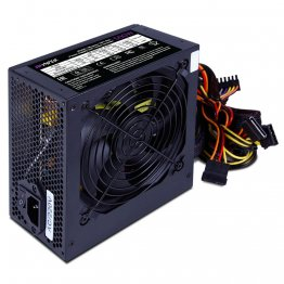 Блок питания HIPER HPT-500 (ATX 2.31, 500W, Passive PFC, 120mm fan, power cord, черный) OEM